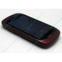 Красно-розовый телефон Alcatel One Touch 818 (Подольск)