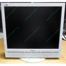 """Б/У монитор 17"""" Philips 170B с колонками и USB-хабом в Подольске, белый (Подольск)"""