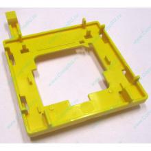 Жёлтый держатель-фиксатор HP 279681-001 для крепления CPU socket 604 к радиатору (Подольск)